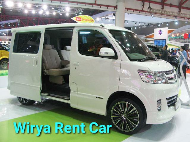 Rental mobil daihatsu luxio untuk dalam kota bandung maupun ke pangandaran
