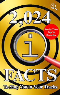 2,024 QI Facts To Stop You In Your Tracks by John Lloyd book cover