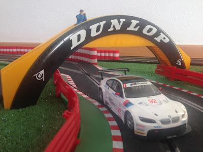 Puente Dunlop Scalextric Inglaterra