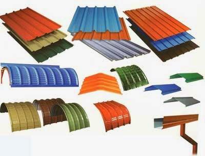 TATA BLUE SCOPE COLOUR COATED GALVALUME SHEETS | Colour coted sheets