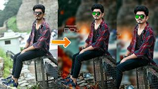 Real PapPya Gaikwad Editing || Stylish Look + Hair edit+ Face White|| PICSART EDITING TUTORIAL