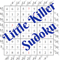 Little Killer Sudoku Puzzles Main Page