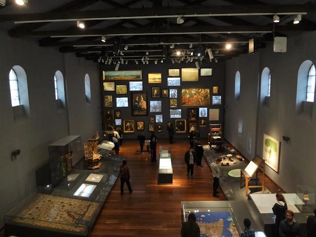 コロンビア国立博物館にある「モダニティルーム」
