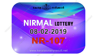 KeralaLotteryResult.net, kerala lottery kl result, yesterday lottery results, lotteries results, keralalotteries, kerala lottery, keralalotteryresult, kerala lottery result, kerala lottery result live, kerala lottery today, kerala lottery result today, kerala lottery results today, today kerala lottery result, Nirmal lottery results, kerala lottery result today Nirmal, Nirmal lottery result, kerala lottery result Nirmal today, kerala lottery Nirmal today result, Nirmal kerala lottery result, live Nirmal lottery NR-107, kerala lottery result 08.02.2019 Nirmal NR 107 08 February 2019 result, 08 02 2019, kerala lottery result 08-02-2019, Nirmal lottery NR 107 results 08-02-2019, 08/02/2019 kerala lottery today result Nirmal, 08/02/2019 Nirmal lottery NR-107, Nirmal 08.02.2019, 08.02.2019 lottery results, kerala lottery result February 08 2019, kerala lottery results 08th February 2019, 08.02.2019 week NR-107 lottery result, 08.02.2019 Nirmal NR-107 Lottery Result, 08-02-2019 kerala lottery results, 08-02-2019 kerala state lottery result, 08-02-2019 NR-107, Kerala Nirmal Lottery Result 08/02/2019