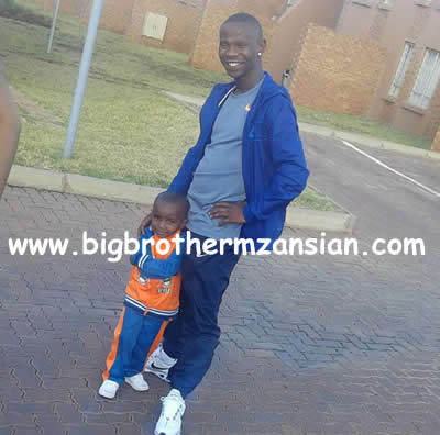 Ace and Ntombi Son Skhokho BBMzansi photos