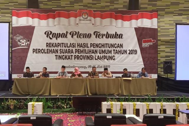 Jokowi-Amin unggul dari Prabowo-Sandi di Lampung