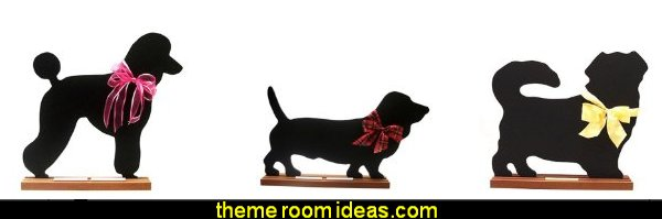 Dog breeds - chalkboards - blackboards