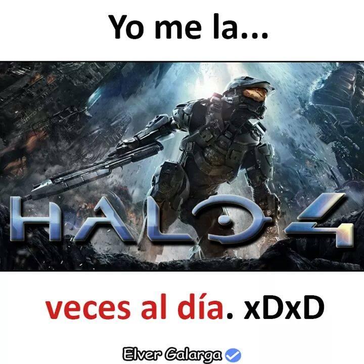 Los que jugaban Halo 4