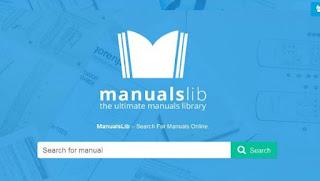 موقع manualslib للحصول على دليل استخدام لأي جهاز