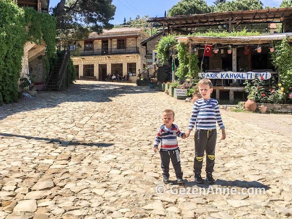 Abi kardeş Yeşilyurt köyünde el ele, Küçükkuyu Kaz dağları