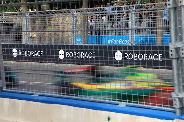 Une vision très grillagée des Championnats du monde 2017 de Formule E à Paris