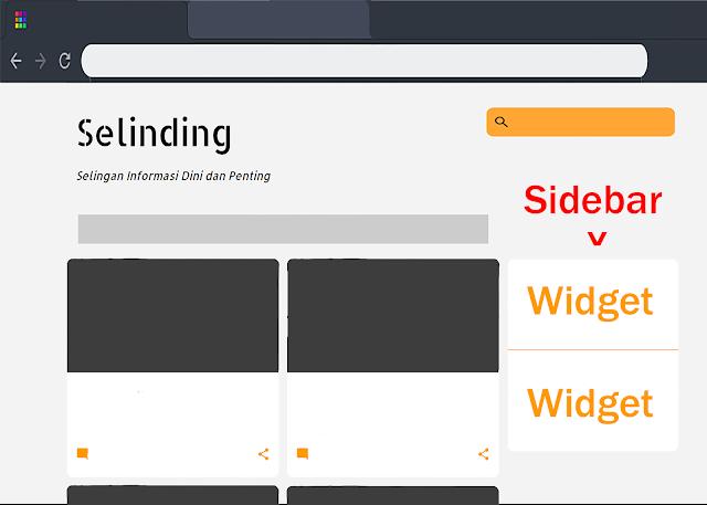 Cara Membuat Sidebar Mengikuti Scroll atau Sticky Widget