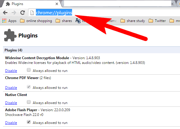 How To Disable VLC Plugin From ( Firefox, Chrome, Safari