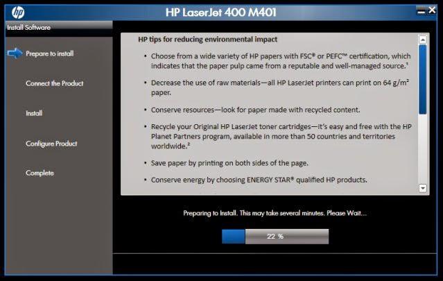 Proses copy file driver