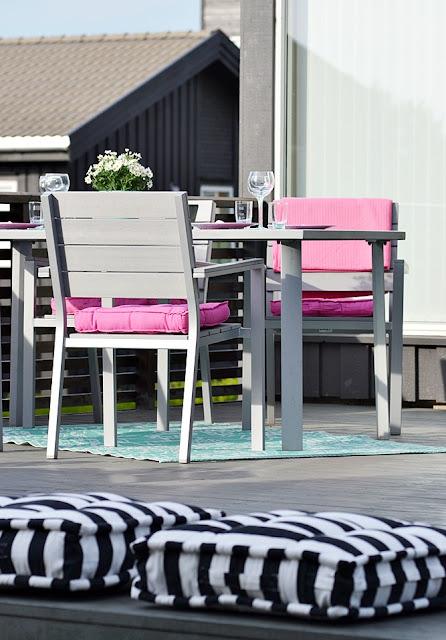 Terraza en rosa decorar tu casa es for Foro de decoracion facilisimo