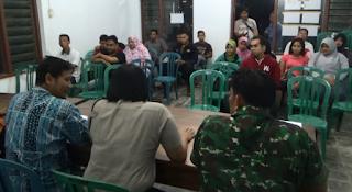 Di Duga Panitia Tidak Transparan Dalam Penilaian, Peserta Ujian Perangkat Desa Tegalarum Ngluruk kantor Desa