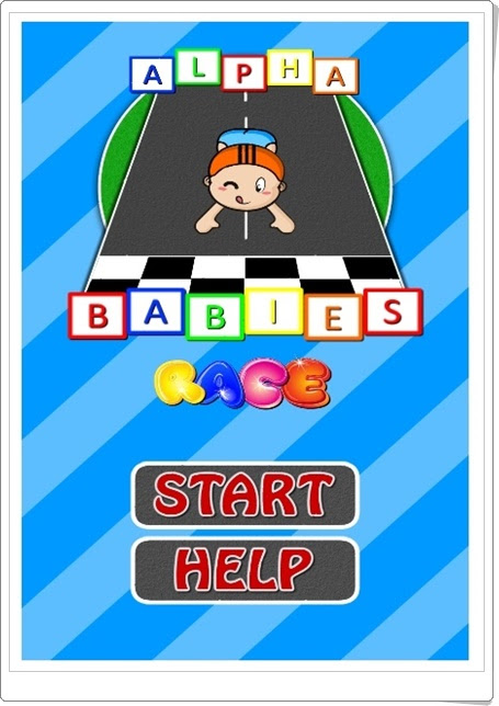 """""""Alpha babies race"""" (Juego sobre el abecedario)"""