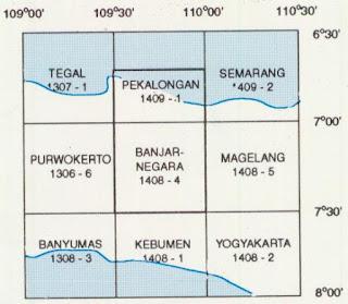 Indeks Peta Geologi Lembar Banjarnegara dan Pekalongan