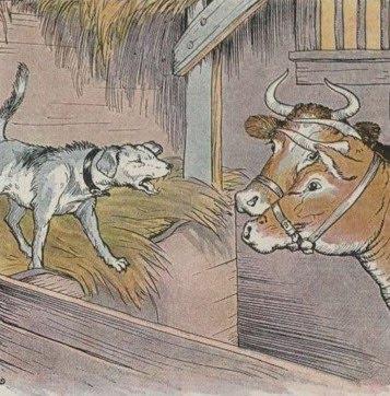 Parábola Sobre o Cachorro na Manjedoura