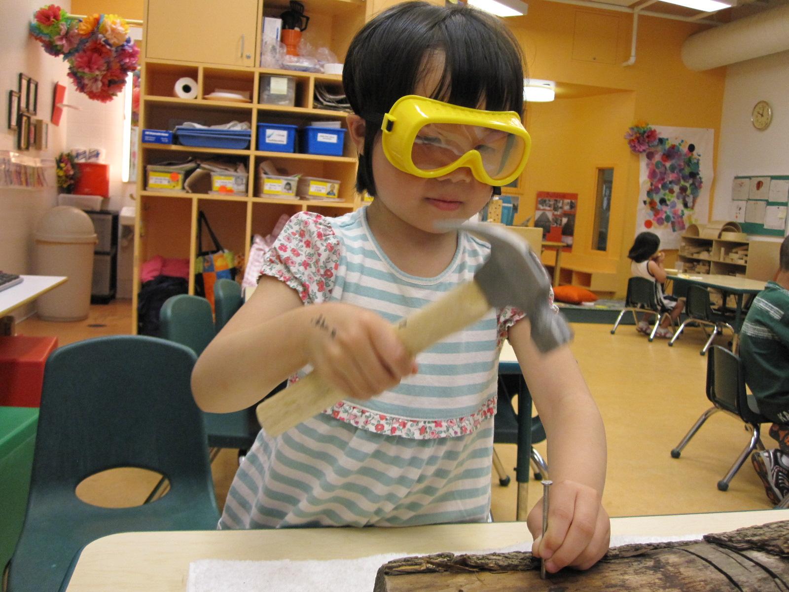 A Garden Woodworking With Preschoolers