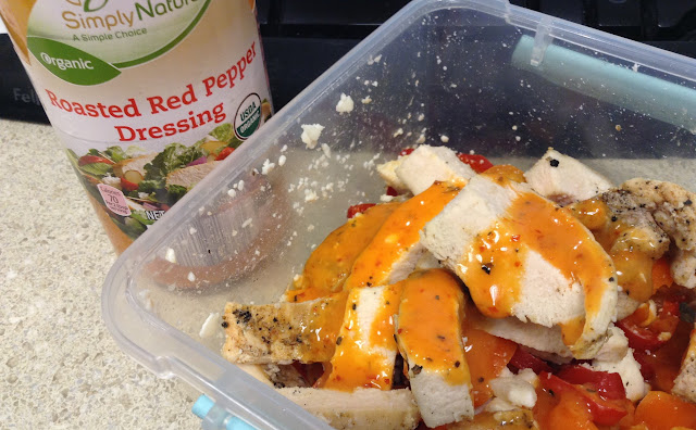 Aldi's Simply Natural Roasted Red Pepper Dressing