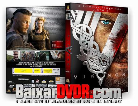 Vikings – 1ª Temporada Completa (2014) DVD-R Oficial