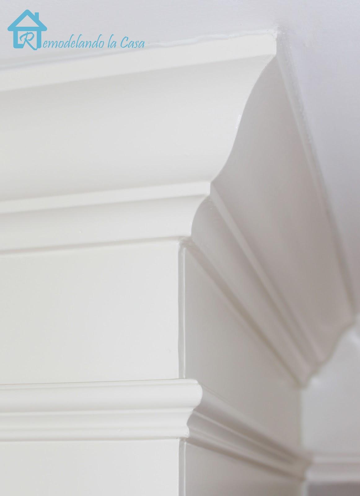 Master Bedroom Makeovers Cutting Crown Corners Anyone Remodelando La Casa