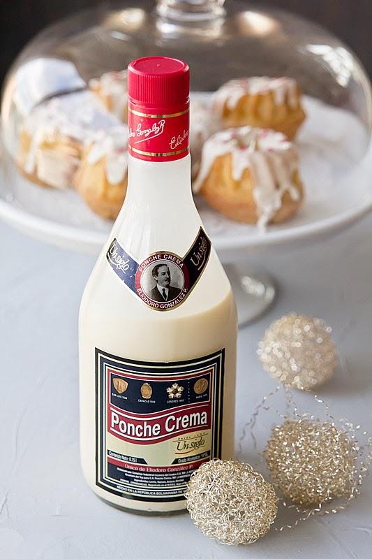 Mini cakes de Ponche Crema para Navidad receta de elgatogoloso.com