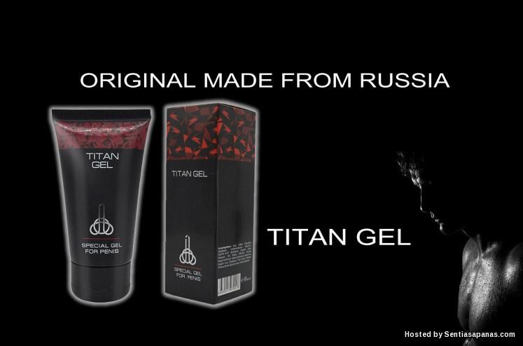 titan gel produk tambah saiz zakar terhangat di pasaran