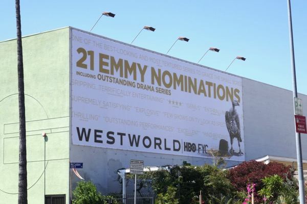 Westworld 2018 Emmy nominee billboard
