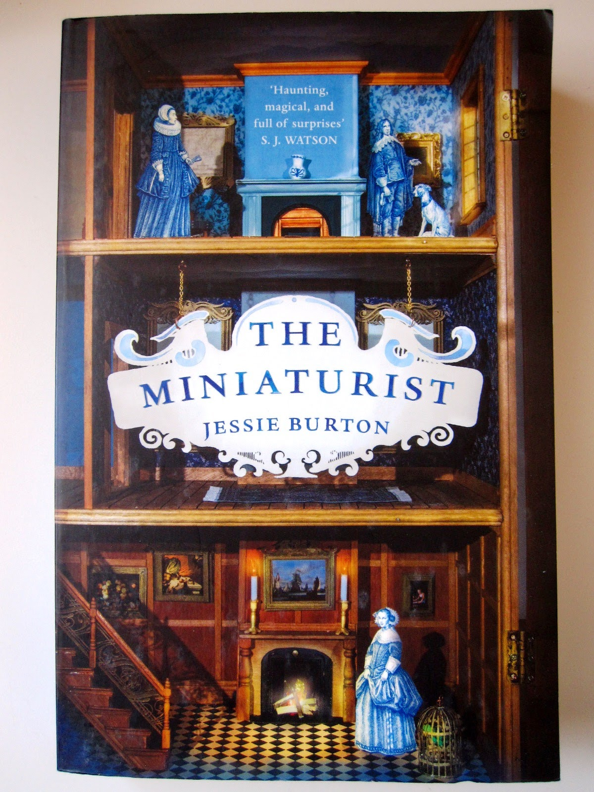 Front cover of the book The Miniaturist by Jessie Burton,