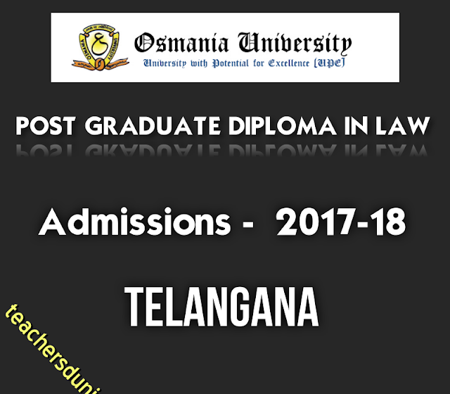 OU-PG-Diploma-In-Law-2017-Notification