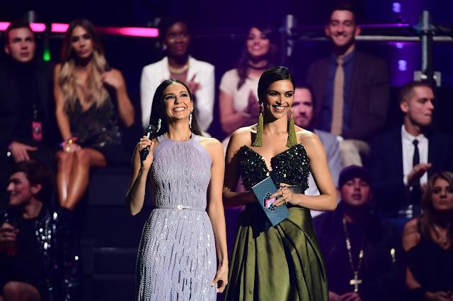 Deepika Padukone at MTV Music Awards(EMA) 2016