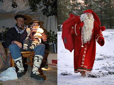 Resultado de imagen de Olentzero, la historia del 'Papá Noel vasco'