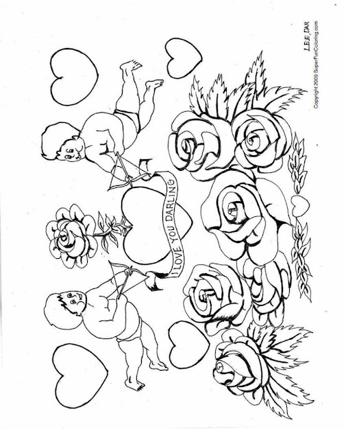 Love Coloring Pages Valentines Coloring Sheets