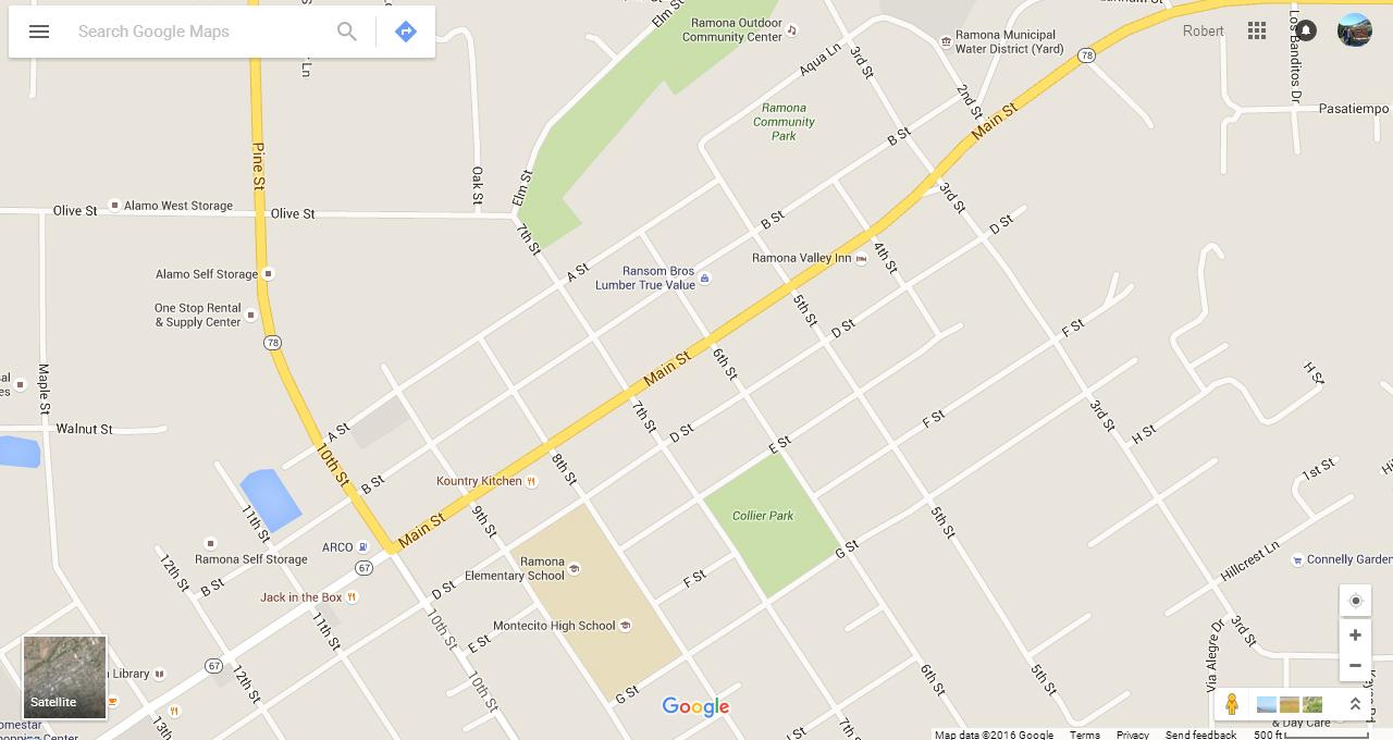 Bob SharonsTravel Adventures Ramona California - California map ramona