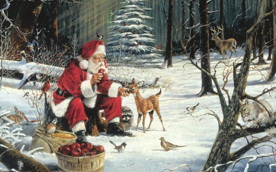 Santa_claus_with_deer_elves_image_downlad