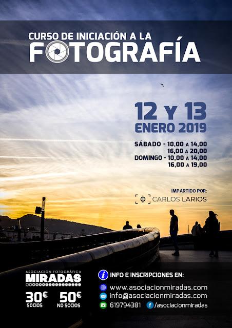 Curso de Iniciación a la Fotografía, con Carlos Larios