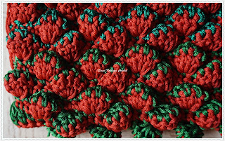 free crochet strawberry bag pattern