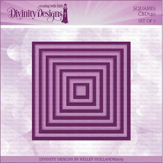 Divinity Designs LLC Custom Squares Dies