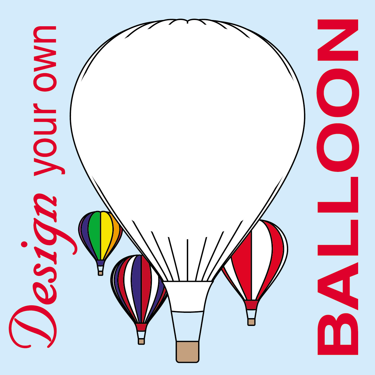 Balloon Zilla Pic Hot Air Balloon Clipart