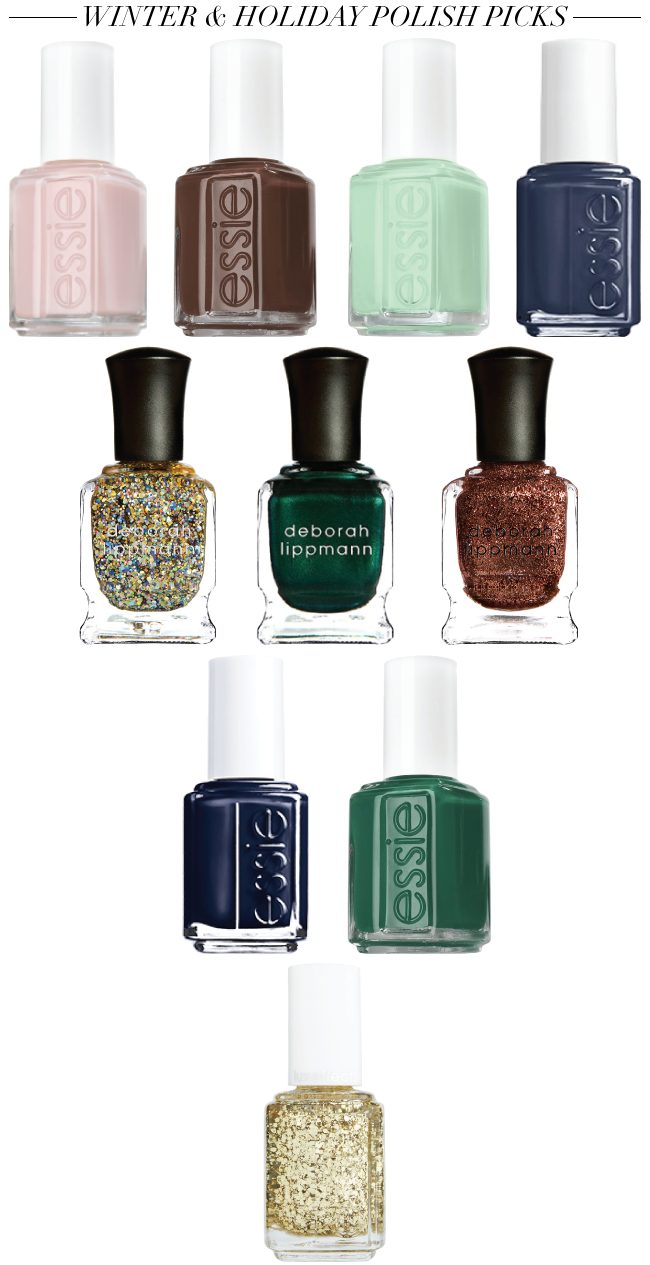 Winter & Holiday Nail Polish Picks // A Style Caddy
