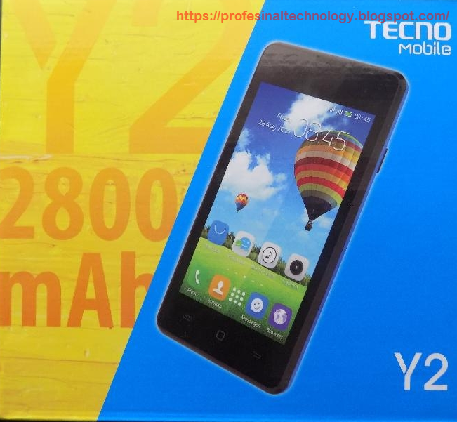 TECNO Y2 MT6572 NEW OS POWERED BY ANDROID TESTED WITH OUR