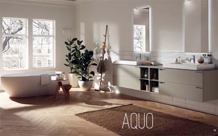 Arredamenti moderni bagni di design moderno da scavolini for Marche di mobili moderni