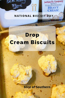 Want to learn how to make the easiest biscuits ever? Dug up from the family recipe box, these biscuits are ultra-tender and the fastest + easiest biscuits you'll ever bake!  Slice of Southern