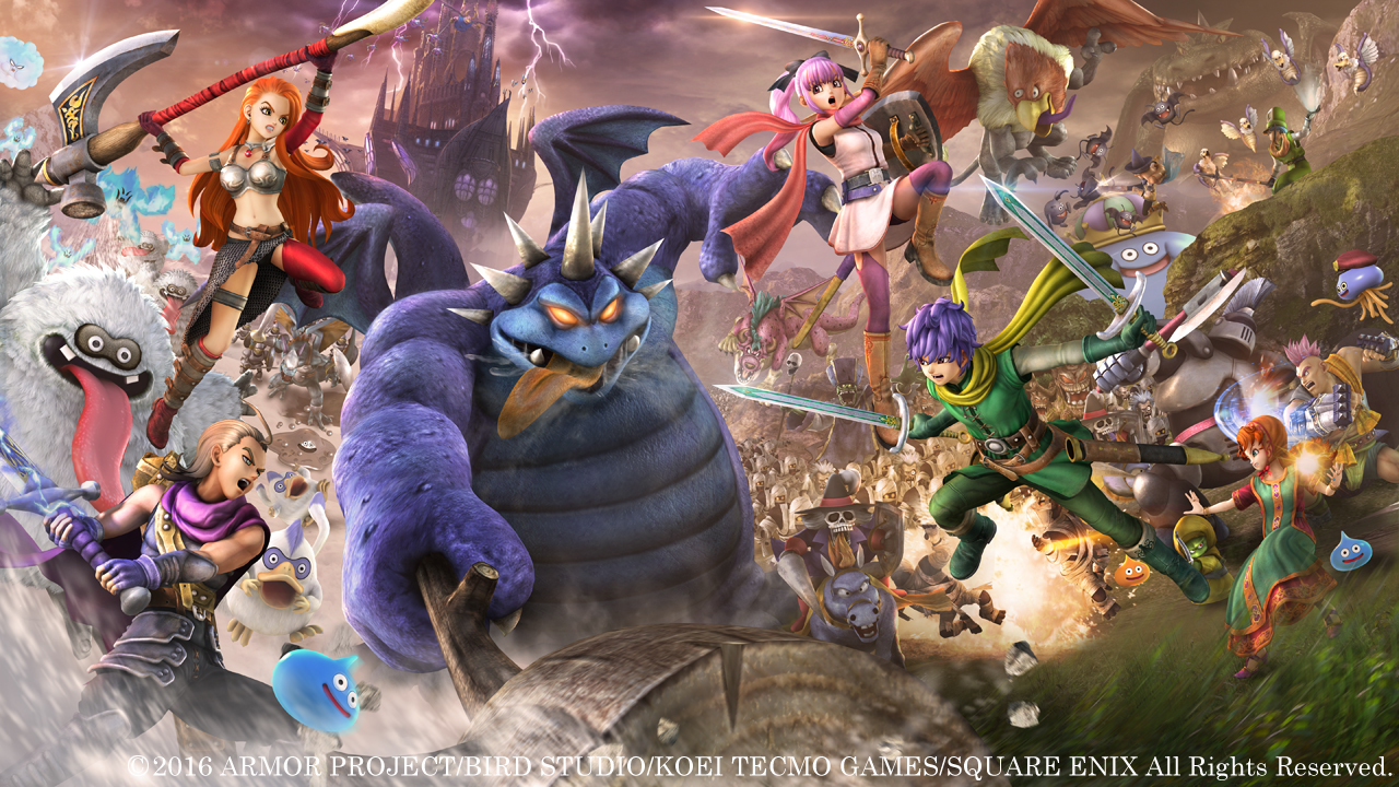 Dragon Quest Heroes 2 PC - Dragon Quest Heroes 2 For PC