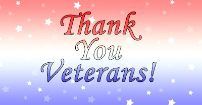 Thank you Veterans! From the staff of Pepperell Braiding Company.