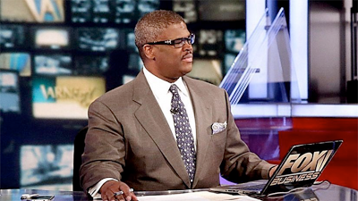 Black Fox News Host, Charles Payne Busted After He Sent Racist Sexy Photos To Blonde He Was Allegedly Sexually Harassing