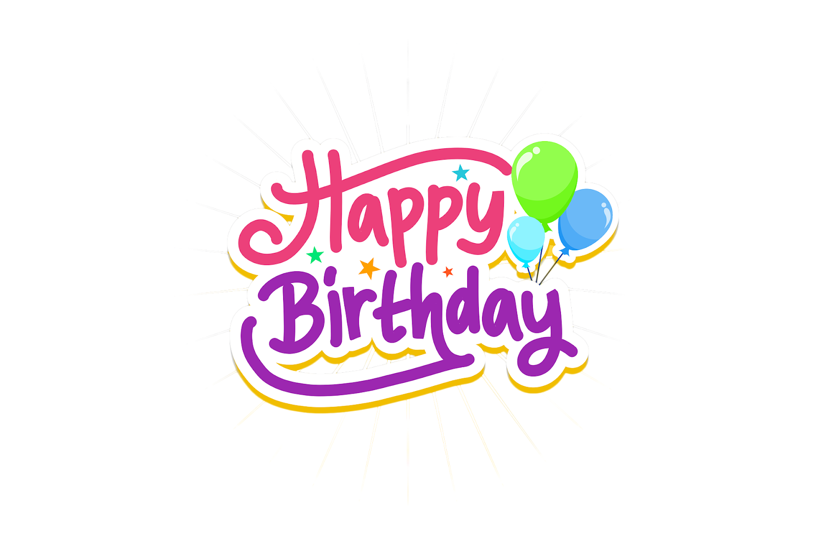 Happy Birthday Text Png Pngs Format