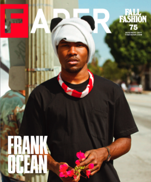 Frank Ocean  not to be confused as Billy Ocean   s son  is gracing the    Frank Ocean Young